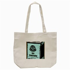 Liftarn Old Can Brown Tote Bag (cream)