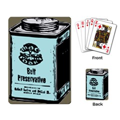 Liftarn Old Can Brown Playing Cards Single Design