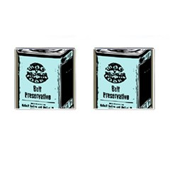 Liftarn Old Can Brown Cufflinks (square)