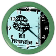 Liftarn Old Can Brown Color Wall Clock
