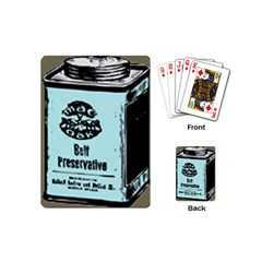 Liftarn Old Can Brown Playing Cards (mini)