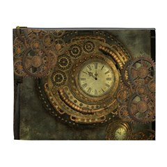 Awesome Steampunk Design, Clockwork Cosmetic Bag (xl)