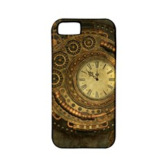 Awesome Steampunk Design, Clockwork Apple Iphone 5 Classic Hardshell Case (pc+silicone) by FantasyWorld7