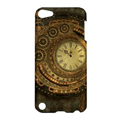 Awesome Steampunk Design, Clockwork Apple Ipod Touch 5 Hardshell Case by FantasyWorld7