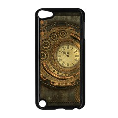 Awesome Steampunk Design, Clockwork Apple Ipod Touch 5 Case (black) by FantasyWorld7