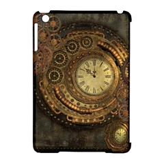 Awesome Steampunk Design, Clockwork Apple Ipad Mini Hardshell Case (compatible With Smart Cover) by FantasyWorld7