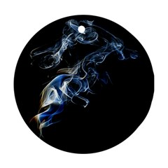 Smoke Flame Dynamic Wave Motion Ornament (round)