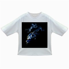 Smoke Flame Dynamic Wave Motion Infant/toddler T Shirts