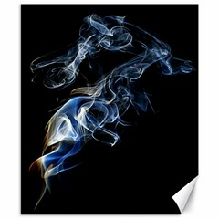 Smoke Flame Dynamic Wave Motion Canvas 8  X 10  by Samandel