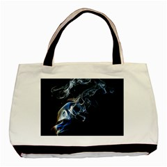 Smoke Flame Dynamic Wave Motion Basic Tote Bag (two Sides)