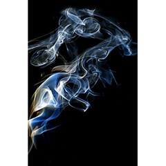 Smoke Flame Dynamic Wave Motion 5 5  X 8 5  Notebook by Samandel