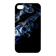 Smoke Flame Dynamic Wave Motion Apple Iphone 4/4s Premium Hardshell Case