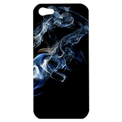 Smoke Flame Dynamic Wave Motion Apple Iphone 5 Hardshell Case by Samandel