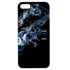 Smoke Flame Dynamic Wave Motion Apple Iphone 5 Hardshell Case With Stand