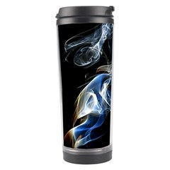 Smoke Flame Dynamic Wave Motion Travel Tumbler