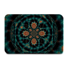 Abstract Digital Geometric Pattern Plate Mats by Samandel