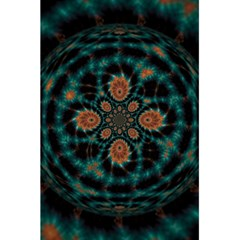 Abstract Digital Geometric Pattern 5 5  X 8 5  Notebook by Samandel