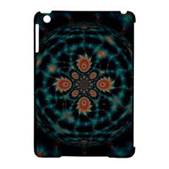 Abstract Digital Geometric Pattern Apple Ipad Mini Hardshell Case (compatible With Smart Cover)