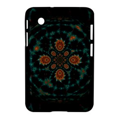 Abstract Digital Geometric Pattern Samsung Galaxy Tab 2 (7 ) P3100 Hardshell Case
