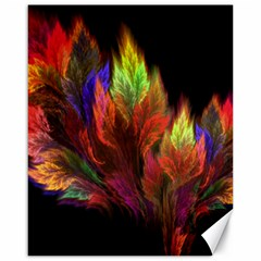 Abstract Digital Art Fractal Canvas 16  X 20  by Samandel