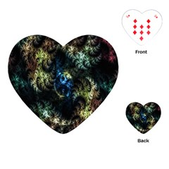Abstract Digital Art Fractal Playing Cards (heart)