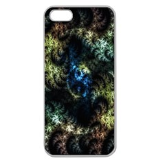 Abstract Digital Art Fractal Apple Seamless Iphone 5 Case (clear)