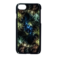 Abstract Digital Art Fractal Apple Iphone 8 Seamless Case (black)