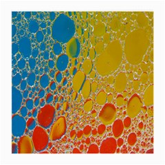 Bubbles Abstract Lights Yellow Medium Glasses Cloth