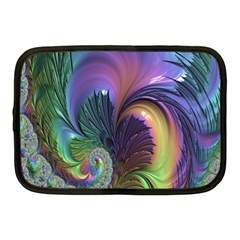 Fractal Artwork Art Swirl Vortex Netbook Case (medium) by Samandel