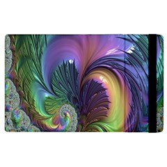 Fractal Artwork Art Swirl Vortex Apple Ipad 3/4 Flip Case by Samandel