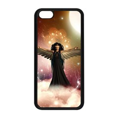 Awesome Dark Fairy In The Sky Apple Iphone 5c Seamless Case (black) by FantasyWorld7