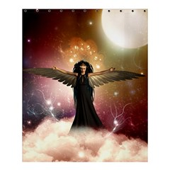 Awesome Dark Fairy In The Sky Shower Curtain 60  X 72  (medium)  by FantasyWorld7