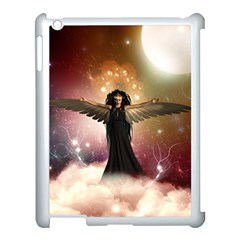 Awesome Dark Fairy In The Sky Apple Ipad 3/4 Case (white) by FantasyWorld7