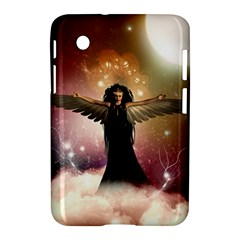 Awesome Dark Fairy In The Sky Samsung Galaxy Tab 2 (7 ) P3100 Hardshell Case  by FantasyWorld7