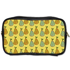 Pears Yellow Toiletries Bag (two Sides)