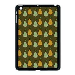 Pears Brown Apple Ipad Mini Case (black) by snowwhitegirl
