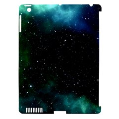 Galaxy Sky Blue Green Apple Ipad 3/4 Hardshell Case (compatible With Smart Cover) by snowwhitegirl