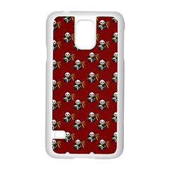 Panda With Bamboo Red Samsung Galaxy S5 Case (white) by snowwhitegirl