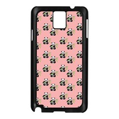 Panda With Bamboo Pink Samsung Galaxy Note 3 N9005 Case (black) by snowwhitegirl