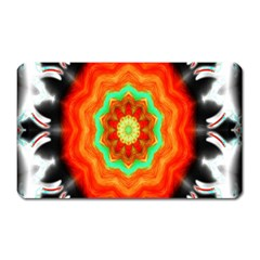 Abstract Kaleidoscope Colored Magnet (rectangular)