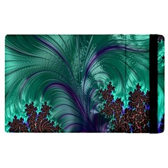 Fractal Turquoise Feather Swirl Ipad Mini 4