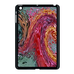 Color Rainbow Abstract Flow Merge Apple Ipad Mini Case (black)