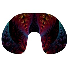Abstract Abstracts Geometric Travel Neck Pillows