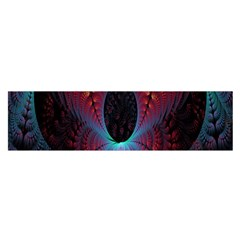 Abstract Abstracts Geometric Satin Scarf (oblong)