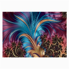 Fractal Art Artwork Psychedelic Large Glasses Cloth (2 Side)
