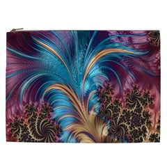 Fractal Art Artwork Psychedelic Cosmetic Bag (xxl)