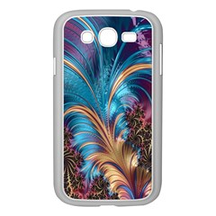 Fractal Art Artwork Psychedelic Samsung Galaxy Grand Duos I9082 Case (white)