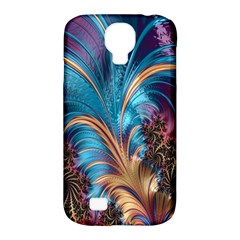 Fractal Art Artwork Psychedelic Samsung Galaxy S4 Classic Hardshell Case (pc+silicone)