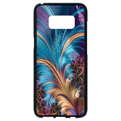 Fractal Art Artwork Psychedelic Samsung Galaxy S8 Black Seamless Case