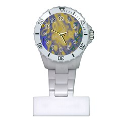 Color Explosion Colorful Background Plastic Nurses Watch